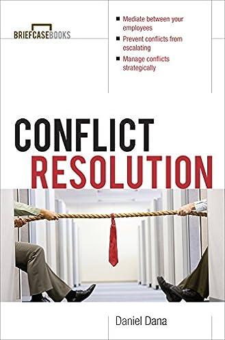 amazon com conflict resolution briefcase books series ebook rh amazon com