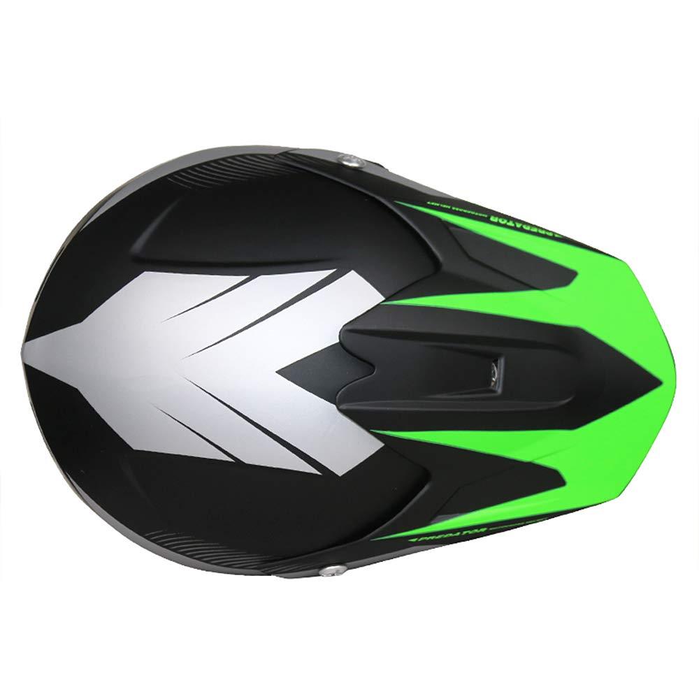 Matt Red L LEO-X15 Children Kids Motocross Full Face Motorbike Helmet - Off Road ECE-2205 Approved Brand:Leopard 53-54cm