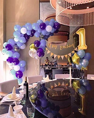 Babyhouse(ベビーハウス)数字 ナンバー バルーン 風船 誕生日 結婚式 0 1 2 3 4 5 6 7 8 9 誕生 二次会 パーティー バースデー ウエディング ブライダル 受け付け 披露宴 祝い 結婚 記念日 装飾 飾付 飾り付け ふうせん グッズ ゴールド