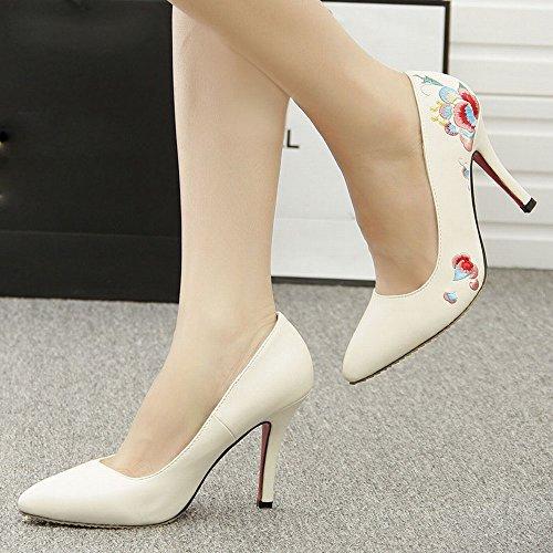 Zapatos Estilo Mujer Zapatos de Mujer Zapatos de Zapatos Mujer Tacones Zapatos DIDIDD Guangzhou Altos Primavera Modelos de xfpvFSan