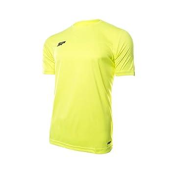 SP Fútbol Valor Niño, Camiseta, Flúor: Amazon.es: Deportes y aire ...