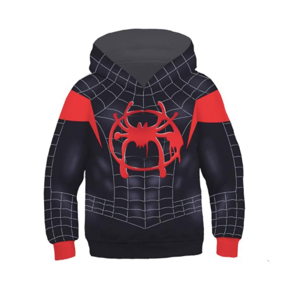 Spiderman Hoodie, 2019 Unisex Superhero Cosplay