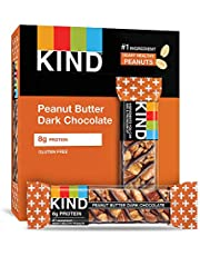 KIND Bars, Peanut Butter Dark Chocolate, Gluten Free,1.4 Ounce,12 Count