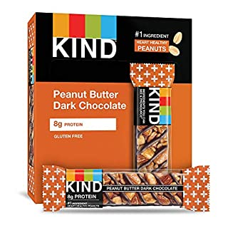 KIND Peanut Butter Dark Chocolate, 8.4 Oz (Pack Of 6)