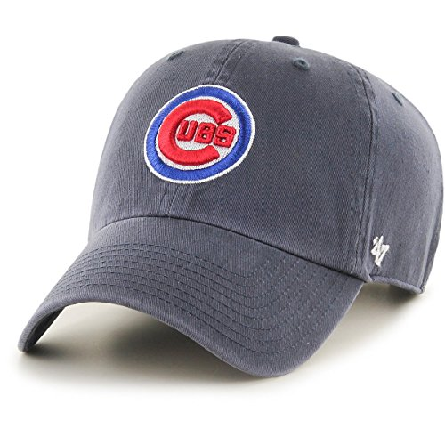 '47 Brand MLB Chicago Cubs Clean up Cap - Vintage Navy