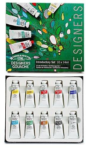 Winsor & Newton Designers' Gouache Introductory Set 1 pcs sku# -