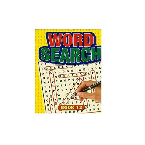 WF Graham Pocket Word Search Books (Pack of 12) (One Size) (Multicolour)