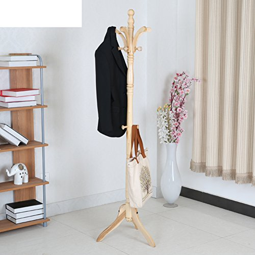 Coat rack,Floor solid wood bedroom hanger hall european crea