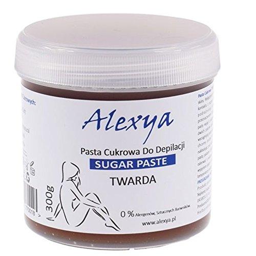 ALEXYA HARD SUGAR PASTE HAIR REMOVAL DEPILATION SUGARING WAX 300g Poland