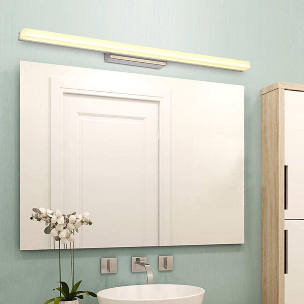 40cm Warmwei/ß 3000K 8W Spiegelleuchte moderne Badlampe Wandleuchte Lozse LED Spiegellampe