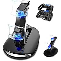 Achieer Dual Usb Charging Charger Docking Station Stand For Playstation 4 Controller