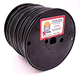Professional Electric Dog Fence Wire - Solid Core Heavy Duty Direct Ground Burial Rated Perimeter Wire - Stands Up to The Elements on Any Wired Underground Dog Fence - 500 Feet
