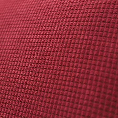 ANSUG Funda para Silla de Oficina Moderna, Cubierta de la Silla de la Oficina de la computadora Elástica Universal para Silla giratoria - Vino Tinto, L