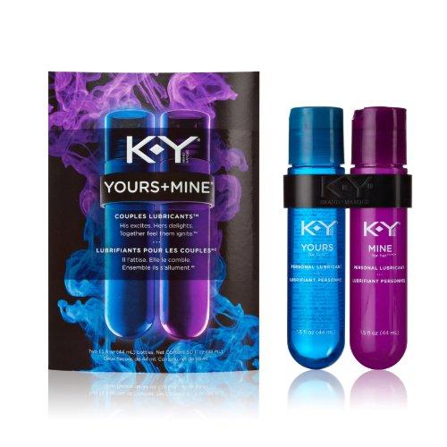 K-Y + vôtre mines couple lubrifiant, 1,5 once