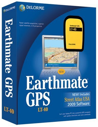 DeLorme Earthmate LT-40 GPS [OLD VERSION] Earthmate Gps Receiver
