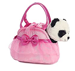 Aurora World Fancy Pals Pet Carrier, Tutu Cute Panda