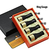 NEW COHIBA Gloss Silver Pure Copper Resin Cigar Pipe Holder Nozzle 4 Sizes (Gold)