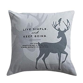 Amazon.com: H-M-STUDIO - Cojín para sofá, sala de estar ...