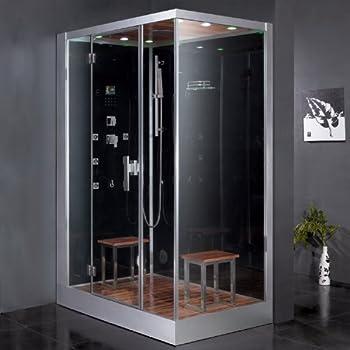 Ariel Platinum Series DZ961F8-BLK-L Steam Shower