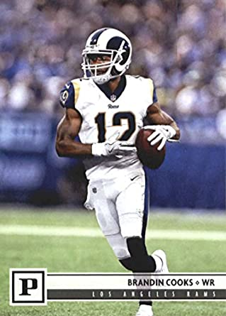 48b33322f 2018 Panini NFL Football  157 Brandin Cooks Los Angeles Rams Official  Trading Card