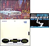1964 CHEVROLET IMPALA CONVERTIBLE OWNERS INSTRUCTION & OPERATING SET OF MANUALS & PROTECTIVE ENVELOPE