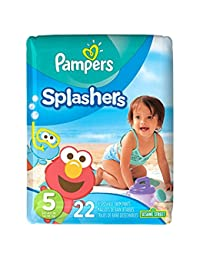 Pampers Splashers Swim Diapers Size 5 22 ea by Splashers BOBEBE Online Baby Store From New York to Miami and Los Angeles