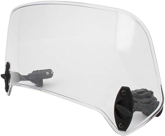 non-brand Sharplace D/éflecteur De Vent Dextension De Pare-Brise De Moto De 36cm
