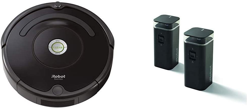 iRobot Roomba 614 Robot Vacuum with Dual Mode Virtual Wall Barrier (2-Pack)