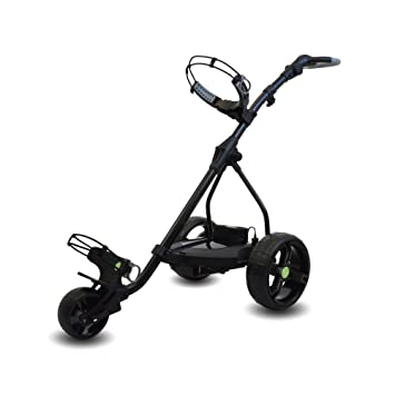Powerbug P6 Pro Tour - Carro de golf eléctrico con mini batería, color negro: Amazon.es: Deportes y aire libre
