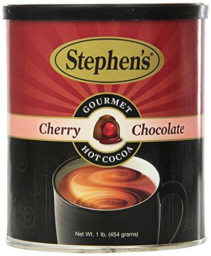 Stephen's Gourmet Hot Cocoa Cherry Chocolate Net Wt 1 Lb