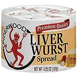 Underwood Liver Wurst, 4.25 oz