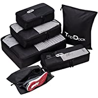 TripDock Various Packing Cubes 6 Set Lightweight Luggage