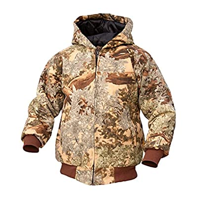 King's Camo Youth Insulated Hooded Hunting Jacket