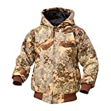 King's Camo Youth Insulated Hooded Hunting Jacket, X-Large