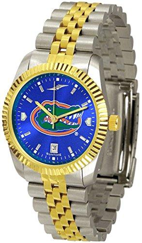 NCAA Florida Gators Stainless Steel Men's Executive Watch