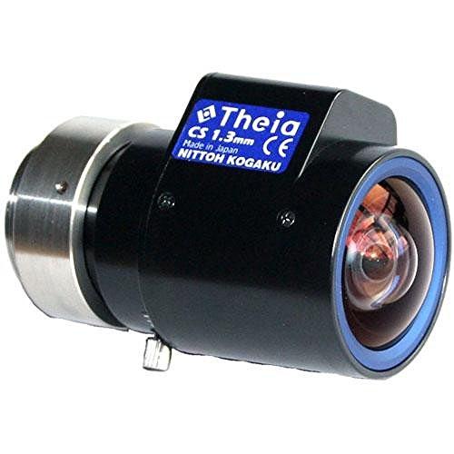 Theia SY125A CS-Mount 1.3mm Fixed DC Auto Iris Lens - Fixed Iris Cs Mount
