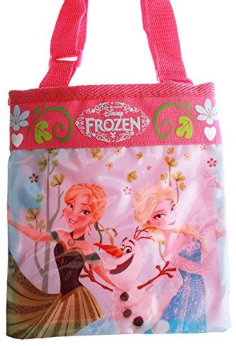 Disney Frozen-Borsa a tracolla, piccola, 20 cm, colore: Rosa