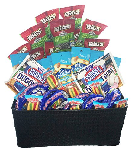 Sports Team Snack Basket | Game Day Baseball -