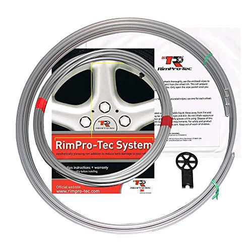 RimPro-Tec System | 4 x Inner Pinstripes + 4 x Base | Reduce Curb Damage | Durable All-Weather Protectors | Fits All Wheels from 13