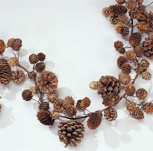 Natural Pinecone Garland.