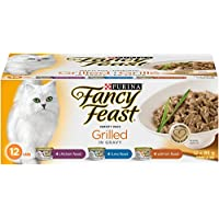 Purina Fancy Feast Grilled Wet Cat Food Variety Pack - 85 g (12 pack)