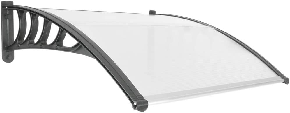 PrimeMatik - Tejadillo de protección 100x90cm Marquesina para ...
