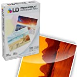 LD © Glossy Inkjet Photo Sticker Paper (8.5X11) 100 pack