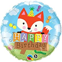 """Qualatex 25176 Foil Balloon, 18"""", Multicolor"""