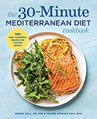 101 ways to savor the Mediterranean Diet ― in just 30 minutes.               The centuries-old Mediterranean diet―built on a foundation of fresh veggies and seafood―is one of the most tasty and nutritious methods of healthy ea...