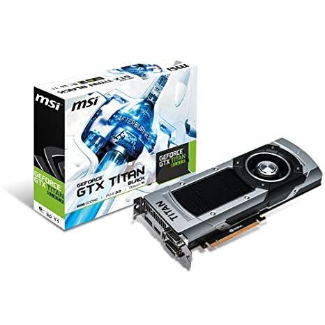 MSI V801-1266R - Tarjeta gráfica con GeForce GTX Titan (6 GB ddr5 sdram)