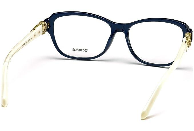 Montature Roberto Cavalli Shaula RC0966 C53 092 (blue/other / ): Amazon.it:  Abbigliamento
