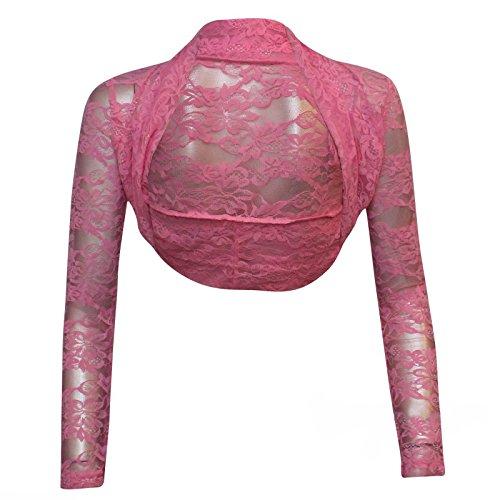 Bolero para mujer, talla única 8101214 Rosa Bebé