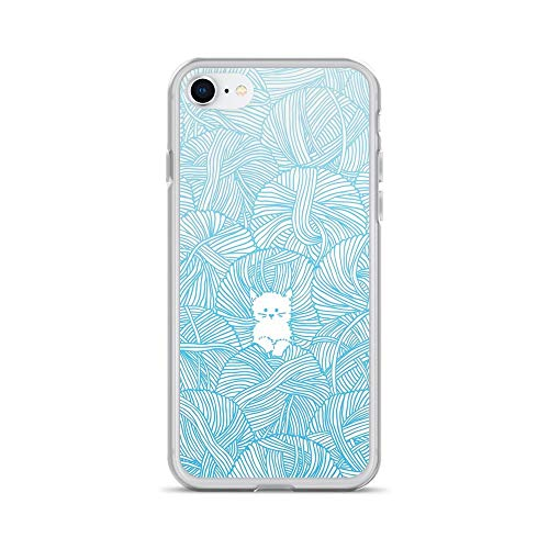 iPhone 7/8 Pure Clear Case Cases Cover Yarn -