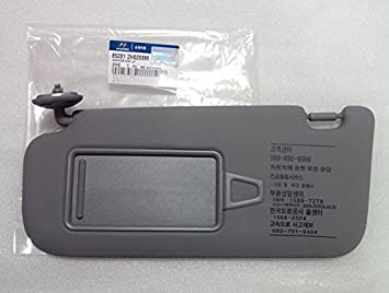 Left Genuine Hyundai 85210-2H160-4W Sun Visor Assembly